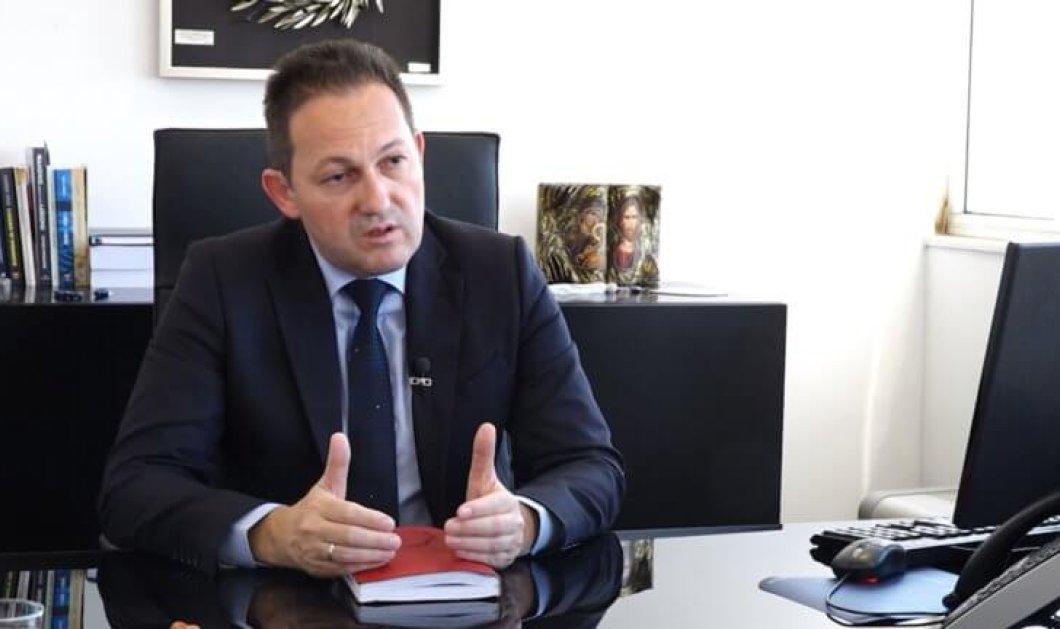 Στέλιος Πέτσας: Αυτός είναι ο νέος κυβερνητικός εκπρόσωπος - Κυρίως Φωτογραφία - Gallery - Video