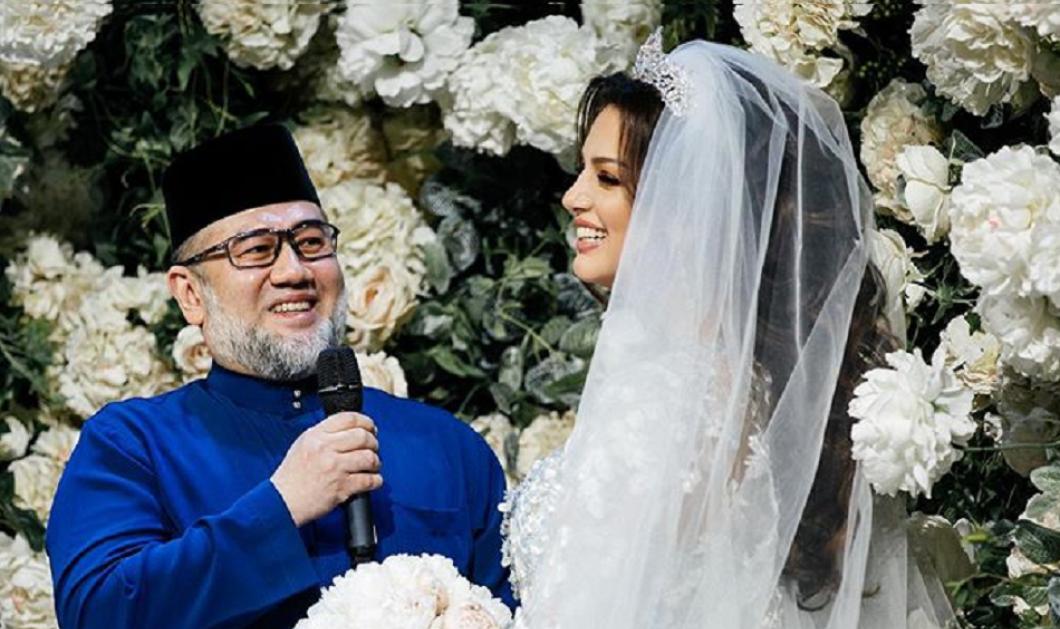 Ο πρώην βασιλιάς της Μαλαισίας ζητά διαζύγιο από την καλλονή σύζυγο του; - Εκείνη δηλώνει για πάντα ερωτευμένη μαζί του (φώτο) - Κυρίως Φωτογραφία - Gallery - Video