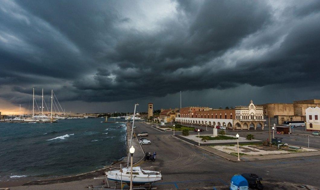 """Και ο καιρός """"τρελάθηκε"""": Φεύγει ο καύσωνας - Έρχονται θυελλώδεις άνεμοι & ισχυρές καταιγίδες - Που χρειάζεται προσοχή (φώτο) - Κυρίως Φωτογραφία - Gallery - Video"""