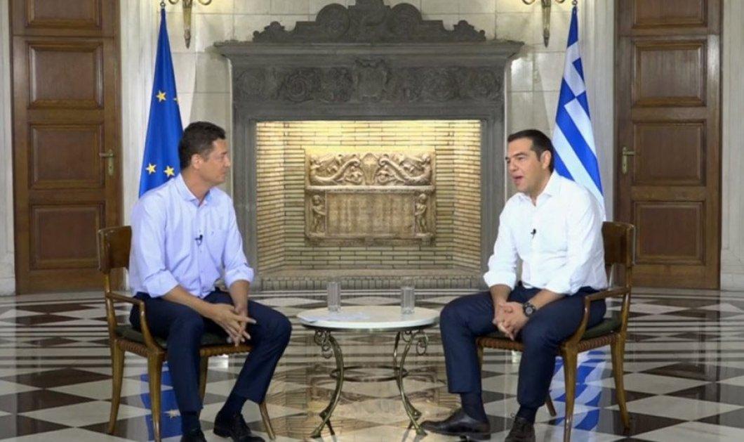 Σε μια διαφορετική συνέντευξη, ο Αλ. Τσίπρας στον Σρόιτερ για εκλογές, τον Μπ. Ομπάμα και την οικογένειά του (βίντεο) - Κυρίως Φωτογραφία - Gallery - Video