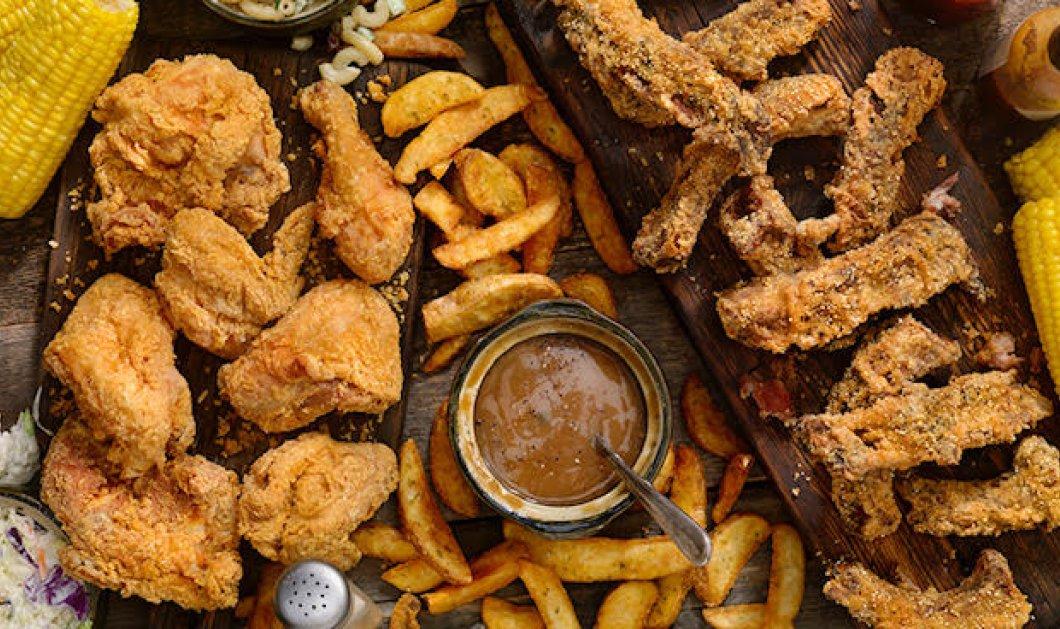 Έρευνα: Τα τηγανητά τρόφιμα αυξάνουν τον κίνδυνο εμφάνισης στεφανιαίας νόσου  - Κυρίως Φωτογραφία - Gallery - Video
