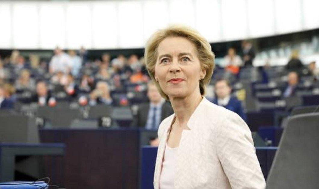 Η Ursula von der Leyen ζητά την εμπιστοσύνη του ΕΚ στη σημερινή ψηφοφορία - Οι στόχοι & το όραμα της (βίντεο) - Κυρίως Φωτογραφία - Gallery - Video