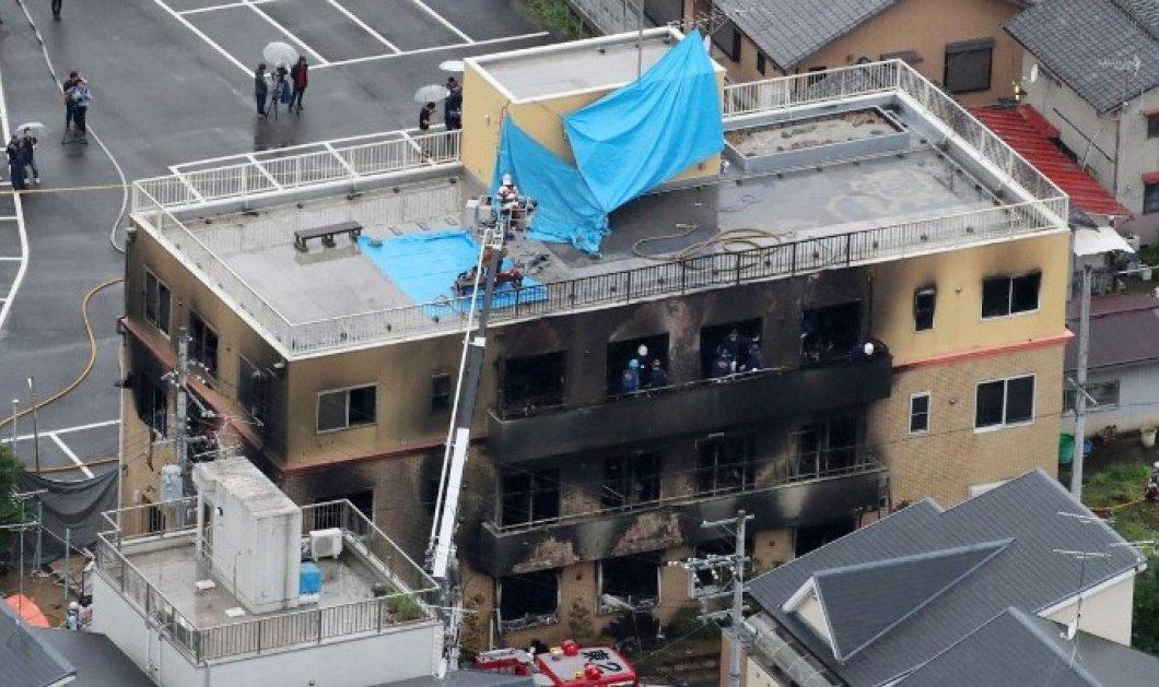 «Θα πεθάνετε» ούρλιαξε & έβαλε βενζίνη & έκαψε 35 ανθρώπους σε στούντιο animation στην Ιαπωνία - 10 σε κρίσιμη κατάσταση (φωτό & βίντεο) - Κυρίως Φωτογραφία - Gallery - Video
