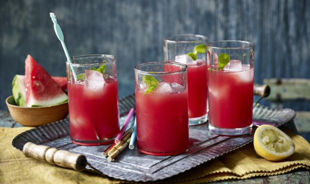 Παγωμένο ρόφημα καρπούζι: Φτιάξτε μόνοι σας, το δροσιστικό, καλοκαιρινό ποτό, χωρίς θερμίδες - Κυρίως Φωτογραφία - Gallery - Video