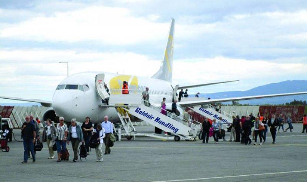 "Good News: Ρεκόρ αφίξεων στο αεροδρόμιο ""Καπετάν Βασίλης"" - 400% αύξηση μέσα σε μία δεκαετία  - Κυρίως Φωτογραφία - Gallery - Video"