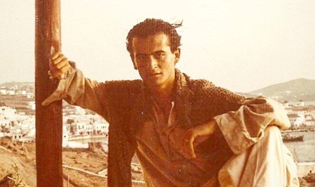 Ο Βασίλης Ζούλιας στα 16 του & στα 56 του στη Μύκονο - Οι μαύρες εποχές των ναρκωτικών και το δυνατό σήμερα (φώτο) - Κυρίως Φωτογραφία - Gallery - Video