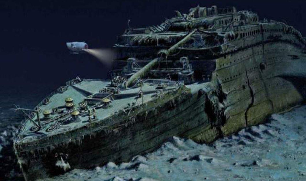 Ο Τιτανικός ΄΄βυθίζεται΄΄ ξανά, 107 χρόνια μετά το διασημότερο ναυάγιο στην ιστορία (φωτό - βίντεο) - Κυρίως Φωτογραφία - Gallery - Video