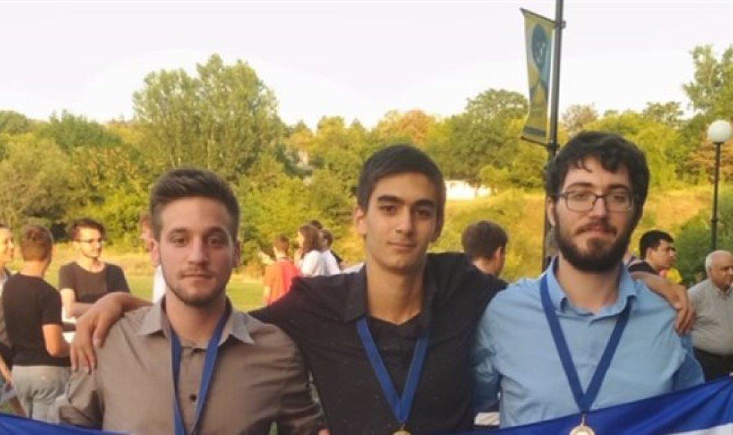 Good News: Αυτά τα τρία Ελληνόπουλα κέρδισαν 3 μετάλλια στα μαθηματικά σε διεθνή φοιτητικό διαγωνισμό -1 χρυσό, 2 αργυρά  - Κυρίως Φωτογραφία - Gallery - Video