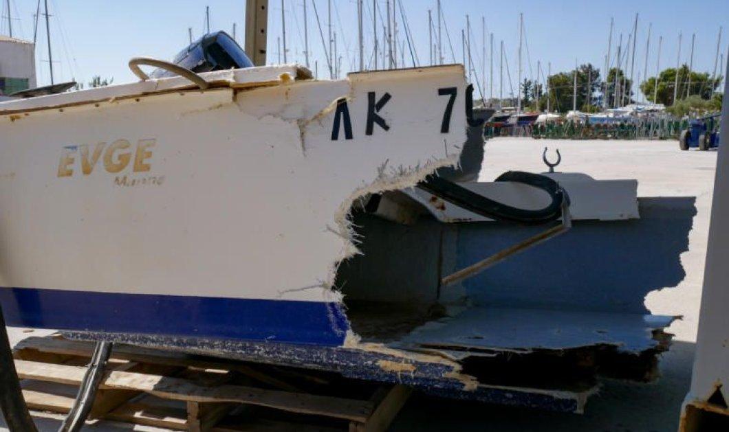 Πόρτο Χέλι: Προθεσμία πήρε για να απολογηθεί ο 44χρονος Γάλλος – Σοκάρουν οι εικόνες από την διαλυμένη βάρκα - Κυρίως Φωτογραφία - Gallery - Video