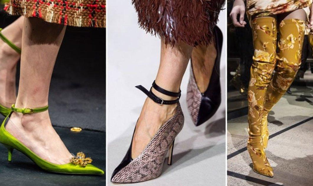 Παπούτσια Φθινόπωρο / Χειμώνας 2019 – 2020: Οι κορυφαίες τάσεις της σεζόν - Κυρίως Φωτογραφία - Gallery - Video