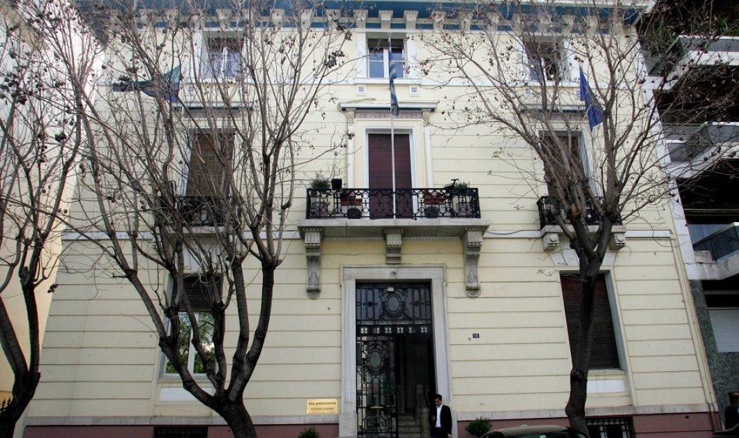 Σε πολυτελές ξενοδοχείο μετατρέπεται το ιστορικό κτήριο της Ν.Δ στη Ρηγίλλης - Το Margi η μισθώτρια εταιρεία (βίντεο) - Κυρίως Φωτογραφία - Gallery - Video