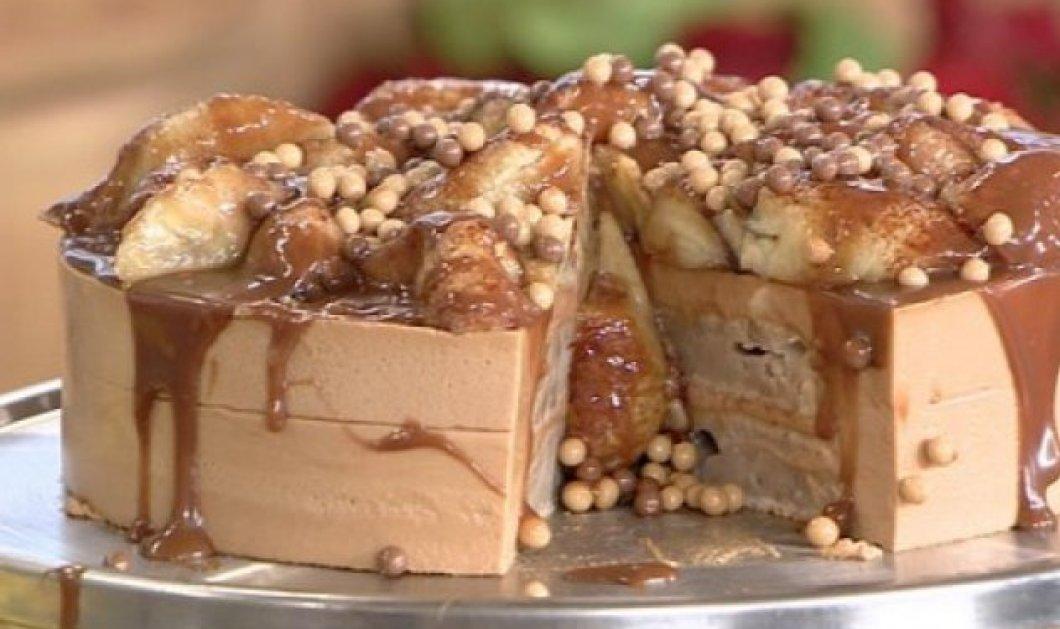 Ο Άκης Πετρετζίκης μας ετοιμάζει μια ονειρεμένη τούρτα καραμέλα - Κυρίως Φωτογραφία - Gallery - Video