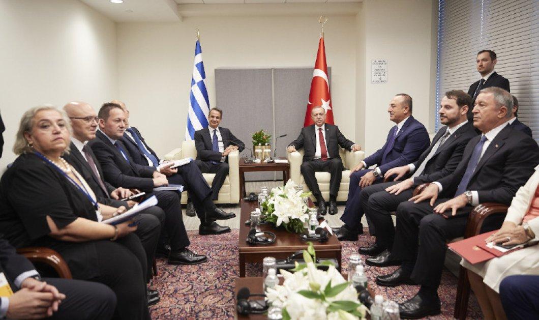 """Η Ν.Δ απαντάει στον ΣΥΡΙΖΑ για Μητσοτάκη - Ερντογάν:  """"Δύο εικόνες χίλιες λέξεις""""  - Κυρίως Φωτογραφία - Gallery - Video"""