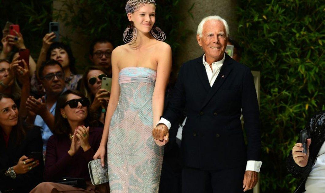 """Ο """"maestro"""" της παγκόσμιας μόδας & μία ακόμα κολεξιόν στα 85 του! - Αιθέρια θηλυκότητα - Ύμνος στη φύση (φώτο-βίντεο) - Κυρίως Φωτογραφία - Gallery - Video"""