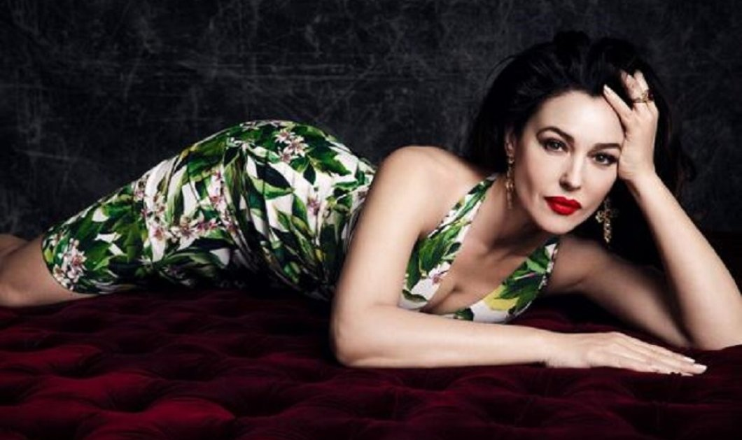 Εκθαμβωτική η Μόνικα Μπελούτσι στην επίδειξη των Dolce & Gabbana - Η εντυπωσιακή αλλαγή στα μαλλιά της Ιταλίδας καλλονής (φώτο) - Κυρίως Φωτογραφία - Gallery - Video