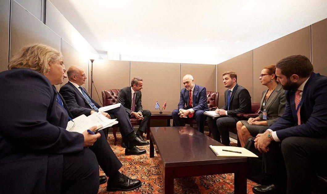Κυρ. Μητσοτάκης στις ΗΠΑ: Τι συζήτησε με τον πρόεδρο της Κολομβίας & με τον Έντι Ράμα  - Κυρίως Φωτογραφία - Gallery - Video
