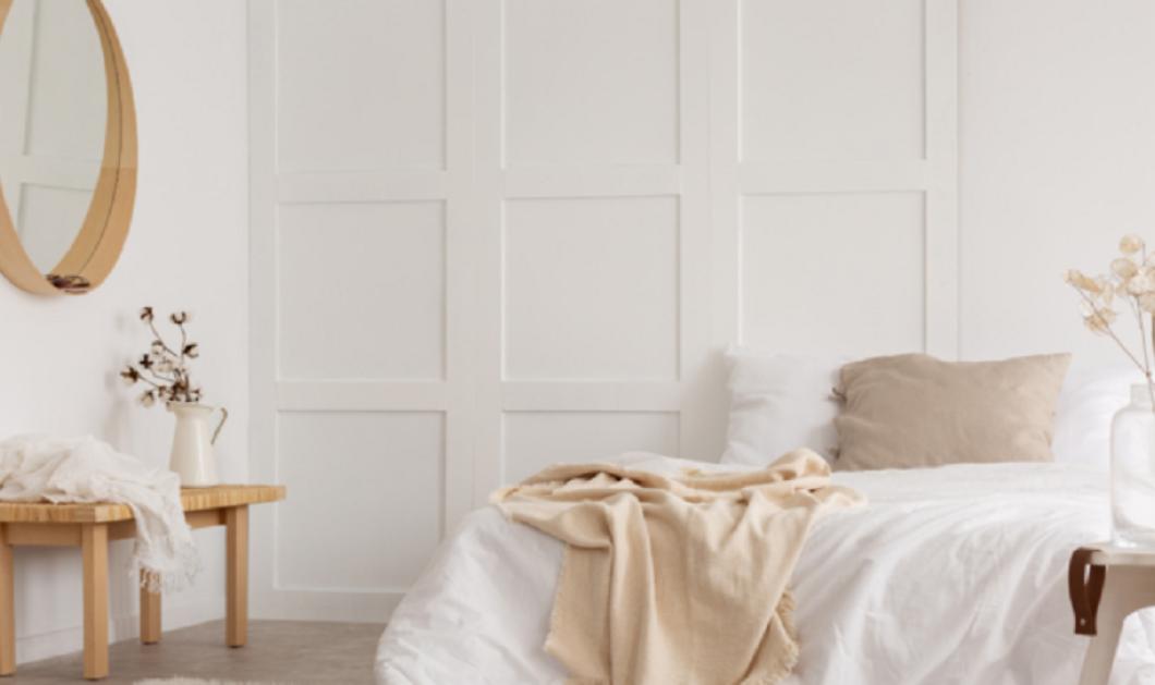 Ο Σπύρος Σούλης μας δίνει ιδέες για το πως θα δώσουμε χαρακτήρα σε ένα λευκό υπνοδωμάτιο (φώτο) - Κυρίως Φωτογραφία - Gallery - Video