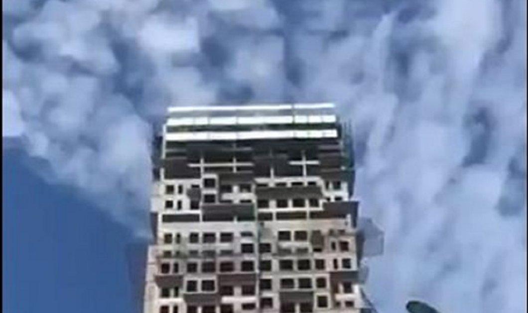 Σοκάρει το βίντεο: Ουρανοξύστης στην Κωνσταντινούπολη ταλαντεύεται πέρα - δώθε σαν φύλλο στον άνεμο  - Κυρίως Φωτογραφία - Gallery - Video