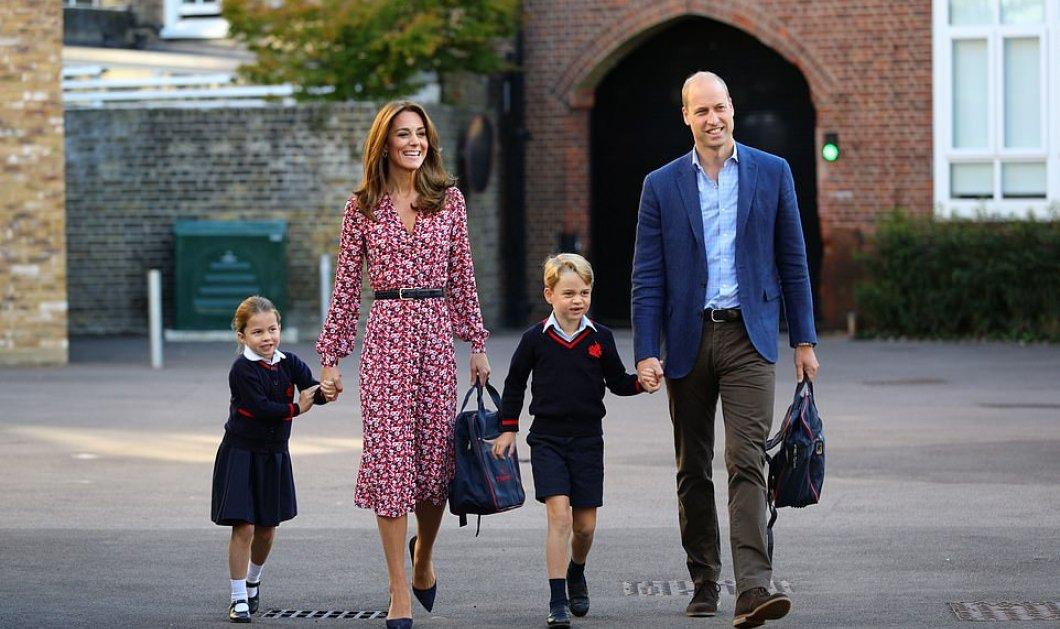Η πριγκίπισσα - μαμά Κέιτ με την καλύτερη κόμμωση  αλά Φάρα Φόσετ - Μελί ανταύγειες και φόρεμα 238 ευρώ (φώτο)  - Κυρίως Φωτογραφία - Gallery - Video