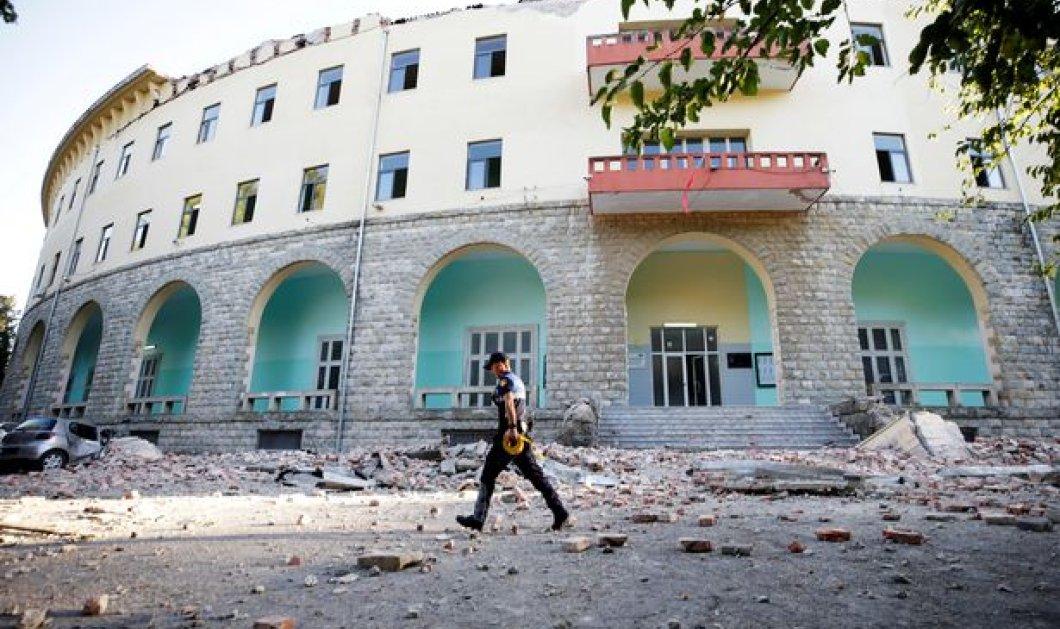 """Η Αλβανία """"μετρά τις πληγές της"""" από τον ισχυρότερο σεισμό των τελευταίων δεκαετιών - Δεκάδες τραυματίες & κατεστραμμένα σπίτια (φώτο-βίντεο)  - Κυρίως Φωτογραφία - Gallery - Video"""