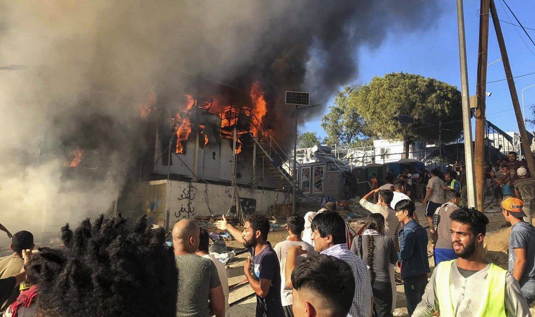 Η επόμενη μέρα στη Μόρια; Οι νεκροί, οι λυσσαλέες συγκρούσεις - Τι λένε περιφερειάρχης, δήμαρχος, το kill police - Κυρίως Φωτογραφία - Gallery - Video