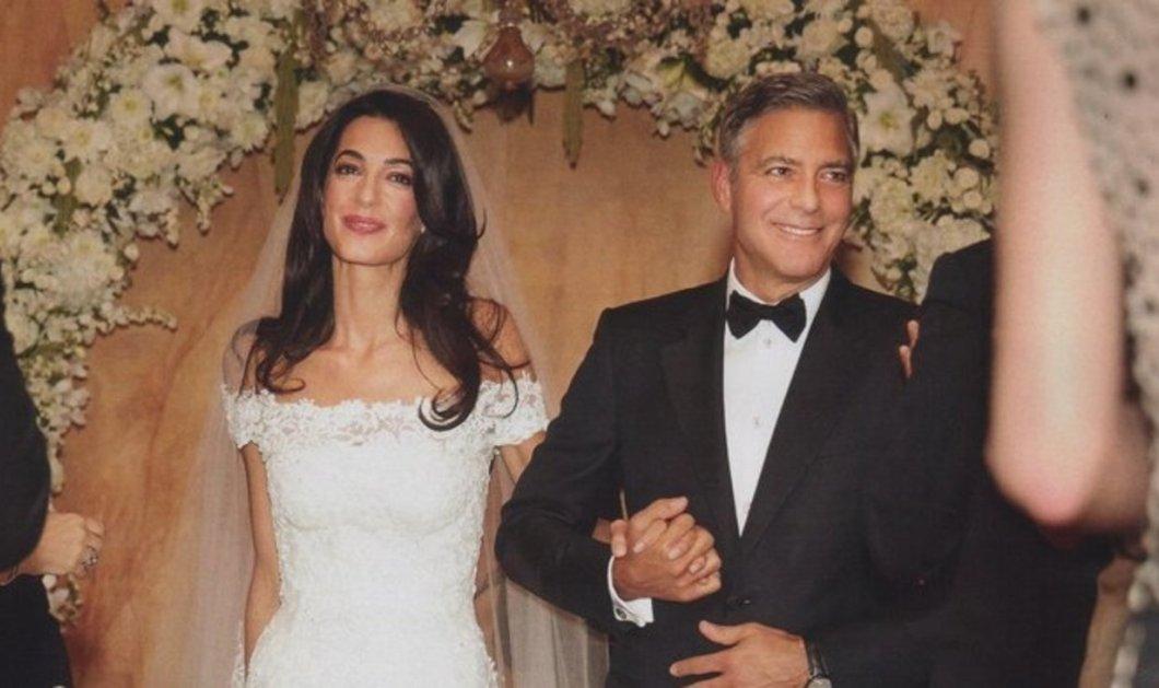 Επέτειο γάμου με το τζιν του γιόρτασε ο Τζορτζ Κλούνεϊ, η Αμάλ ΄΄έτριζε΄΄ με δερμάτινο παντελόνι – Τι έβαλαν το επόμενο πρωί! (φωτό) - Κυρίως Φωτογραφία - Gallery - Video