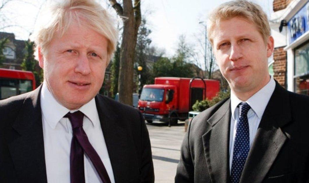 """Μπ. Τζόνσον: """"Καλύτερα να με βρουν νεκρό σε χαντάκι παρά να καθυστερήσω το Brexit"""" - Παραιτήθηκε ο αδερφός του από τη θέση του υφυπουργού (φώτο -βίντεο) - Κυρίως Φωτογραφία - Gallery - Video"""