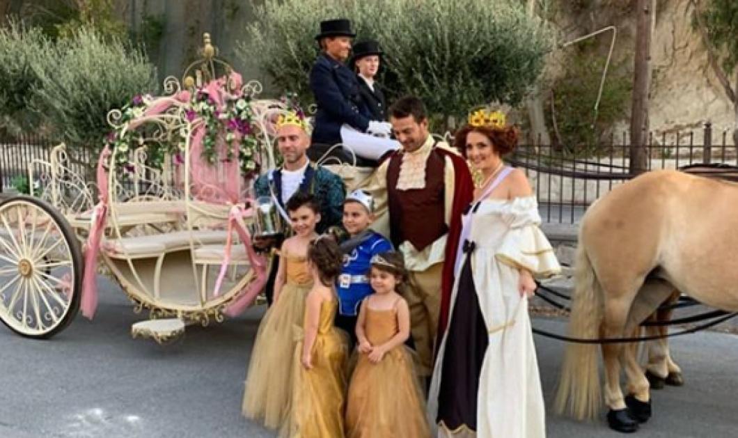 Ο Γιώργος Αγγελόπουλος έγινε πρίγκιπας Nτάνος: Xειροφίλημα στην μικρή Έλενα, χορός με άμαξα εκπληρώνοντας την επιθυμία της (φωτό) - Κυρίως Φωτογραφία - Gallery - Video