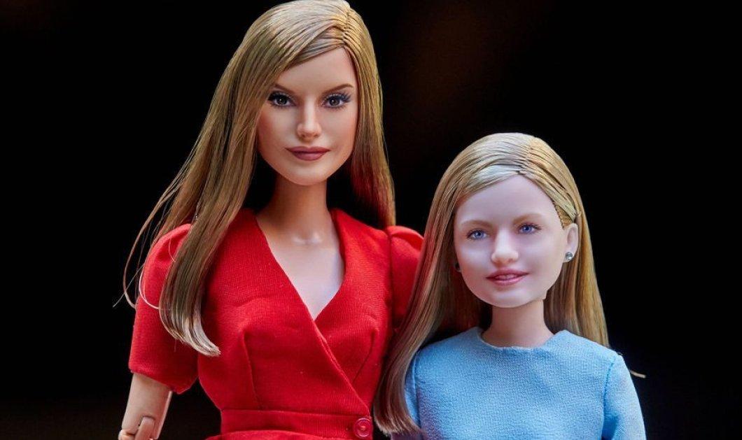 Κούκλες έγιναν η Βασίλισσα της Ισπανίας Λετίσια & η διάδοχος του θρόνου, η 12χρονη Λεονόρ (φωτό) - Κυρίως Φωτογραφία - Gallery - Video