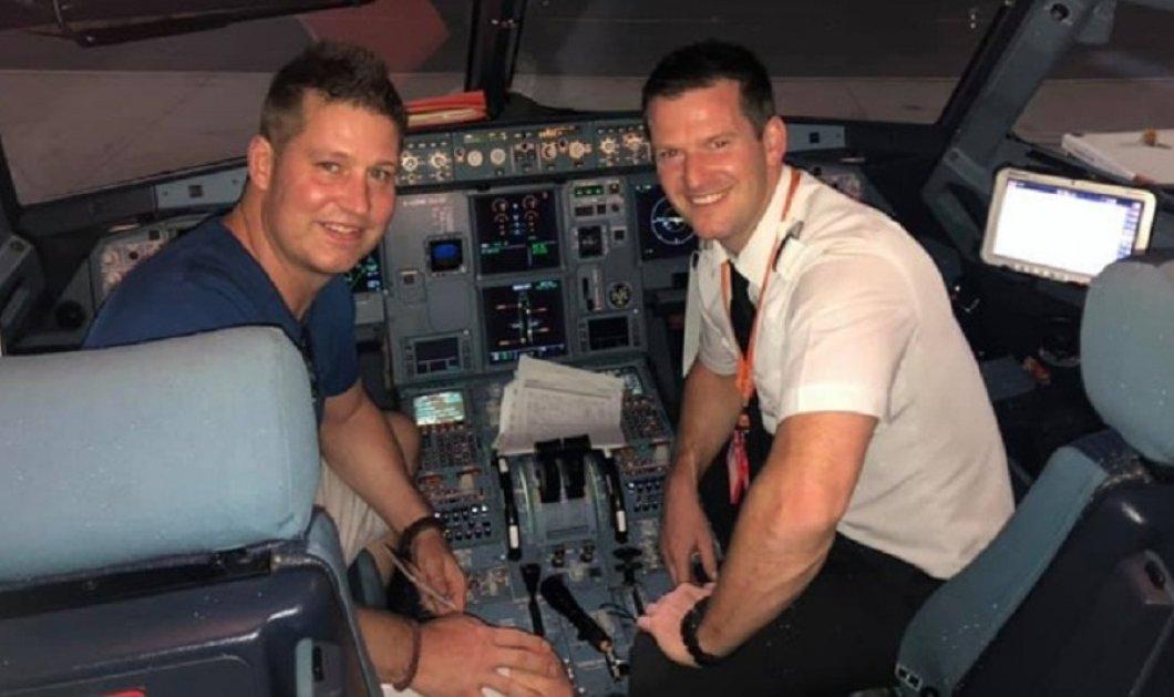 Ο πιλότος δεν εμφανίστηκε στο αεροδρόμιο & ο συνάδελφος του πήρε το αεροπλάνο & έφυγε για τις διακοπές του!  (βίντεο) - Κυρίως Φωτογραφία - Gallery - Video