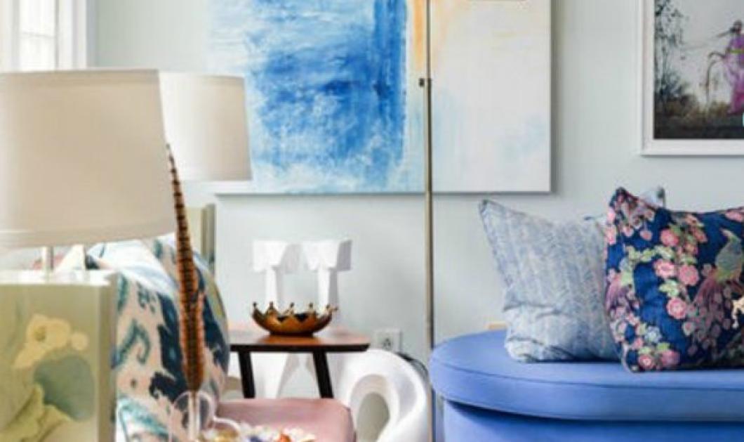Εντυπωσιακές διακοσμητικές ιδέες από τον Σπύρο Σούλη για ένα διαμέρισμα 74τμ - Όλη η δημιουργικότητα μέσα από μερικές εικόνες - Κυρίως Φωτογραφία - Gallery - Video