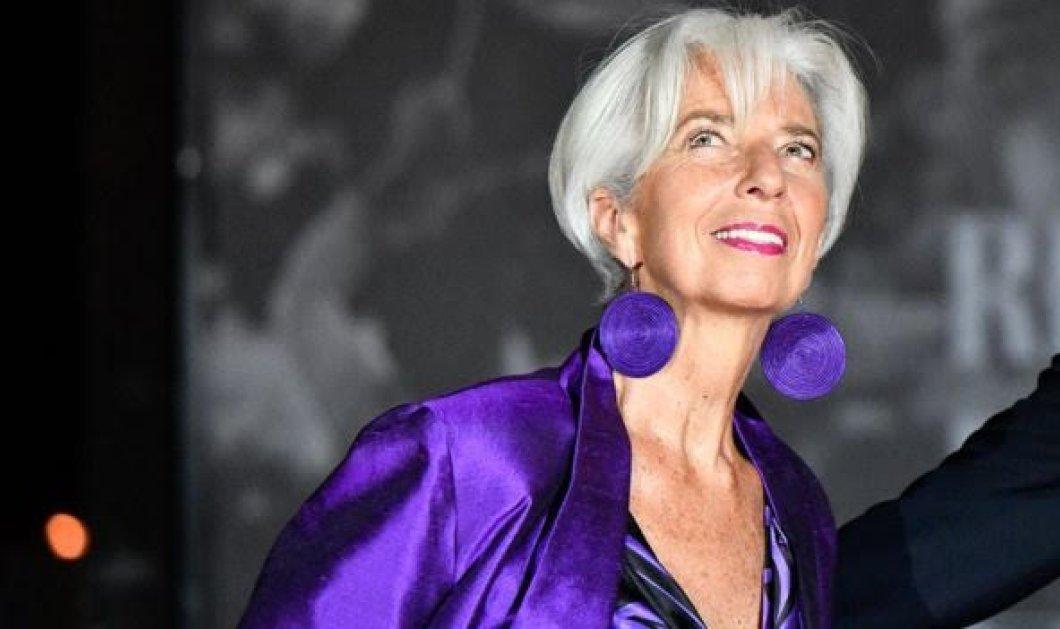 Κριστίν Λαγκάρντ: Aς μην ασκούμε υπερβολική πίεση στην Ελλάδα για πρωτογενές πλεόνασμα  - Είπαμε, είναι σε ανάκαμψη - Κυρίως Φωτογραφία - Gallery - Video