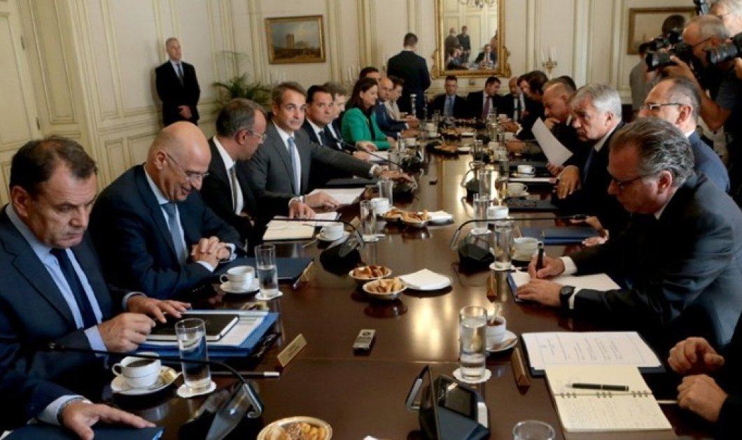 Συνεδρίασε το υπουργικό συμβούλιο - Στο «τραπέζι» και το προσφυγικό/μεταναστευτικό - Κυρίως Φωτογραφία - Gallery - Video