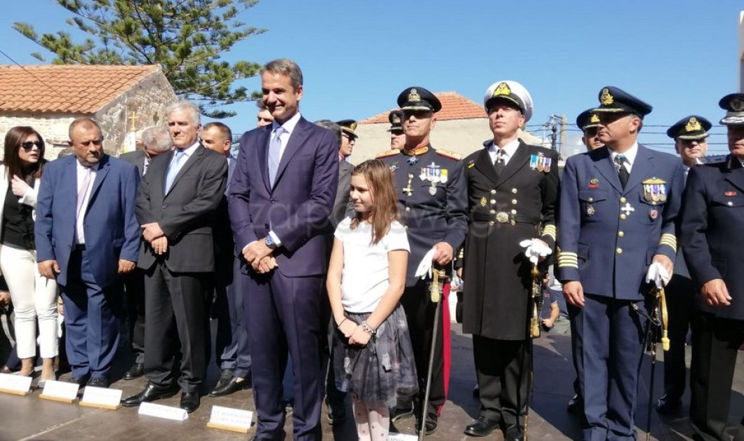 """Στην Κρήτη ο πρωθυπουργός για την εθνική επέτειο: """"Η 28η Οκτωβρίου μήνυμα της ενότητας και του οράματος για μια καλύτερη Ελλάδα"""" (φώτο-βίντεο)  - Κυρίως Φωτογραφία - Gallery - Video"""