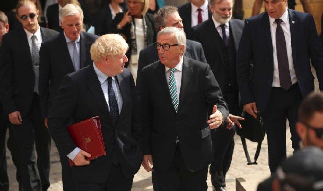 Έχουμε συμφωνία για το Brexit: Μπόρις Τζόνσον - Γιούνκερ κατέληξαν σε deal - Δείτε τις λεπτομέρειες (βίντεο) - Κυρίως Φωτογραφία - Gallery - Video