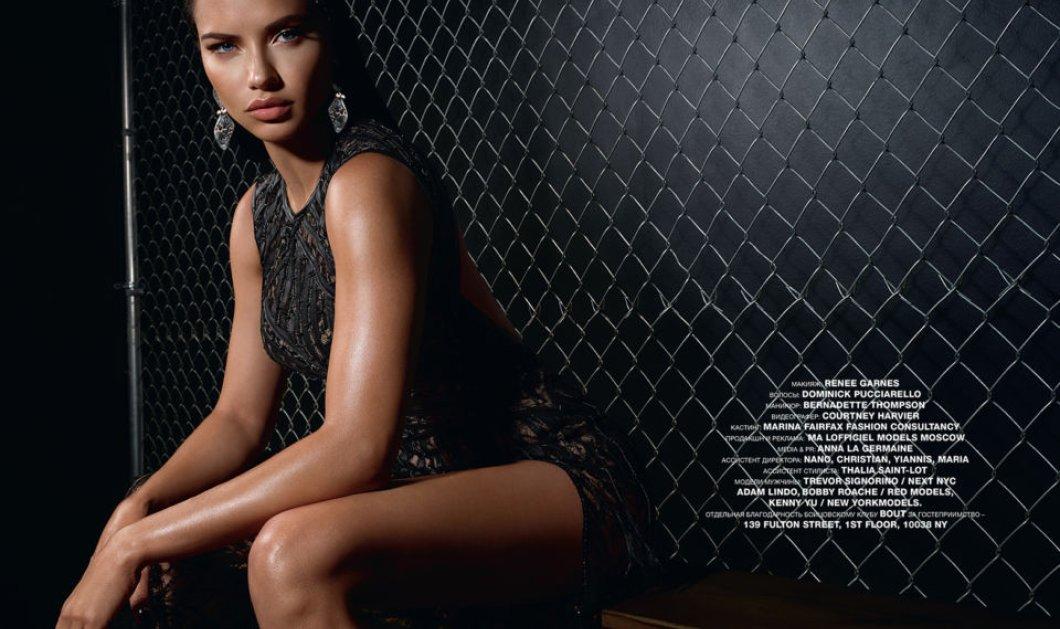 Η Andriana Lima με «made in Greece» – υπέροχο φουστάνι – Kathy Heyndels (φώτο) - Κυρίως Φωτογραφία - Gallery - Video