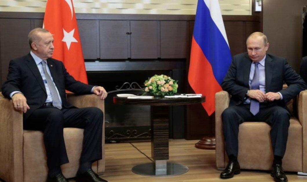 Κοινό μέτωπο Πούτιν - Ερντογάν για τη Συρία: Προθεσμία 150 ωρών για την απομάκρυνση των Κούρδων (φώτο-βίντεο) - Κυρίως Φωτογραφία - Gallery - Video