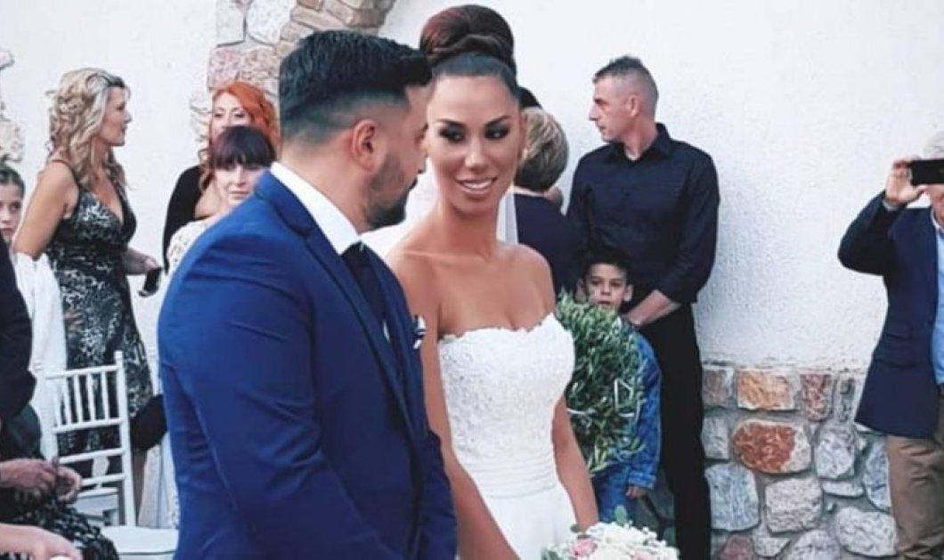 """Συγκίνηση στο γάμο του Τριαντάφυλλου Παντελίδη - Ο αδερφός του Παντελή & η όμορφη νύφη χόρεψαν το """"Μένω εδώ"""" (φώτο-βίντεο) - Κυρίως Φωτογραφία - Gallery - Video"""