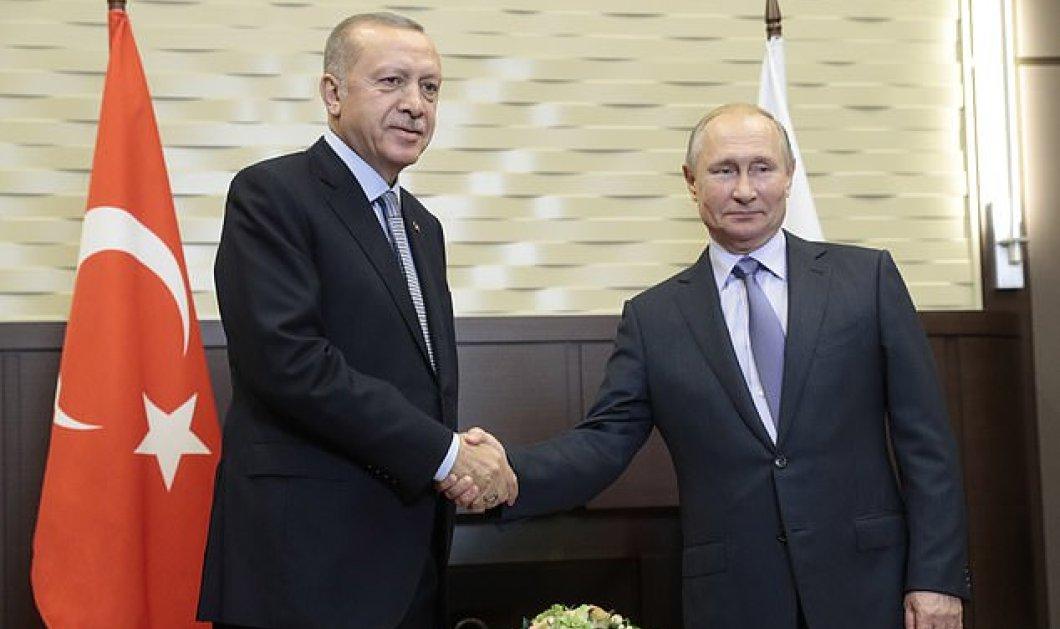 Σε εξέλιξη η κρίσιμη συνάντηση Ερντογάν - Πούτιν: Η επέμβαση στη Συρία στο τραπέζι - Δείτε βίντεο & live τη συνέντευξη τύπου  - Κυρίως Φωτογραφία - Gallery - Video