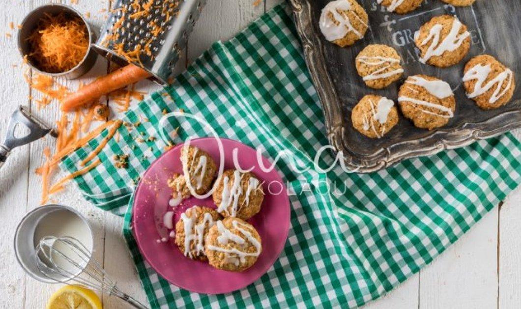 Η Ντίνα Νικολάου προτείνει: Φτιάξτε εύκολα και γρήγορα υπέροχα Cookies καρότου με μπαχαρικά - Κυρίως Φωτογραφία - Gallery - Video