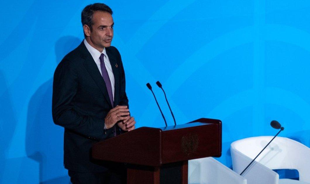 «Ώρα του πρωθυπουργού» στη Βουλή – Ο Μητσοτάκης απαντά στον Βαρουφάκη για το προσφυγικό - Κυρίως Φωτογραφία - Gallery - Video