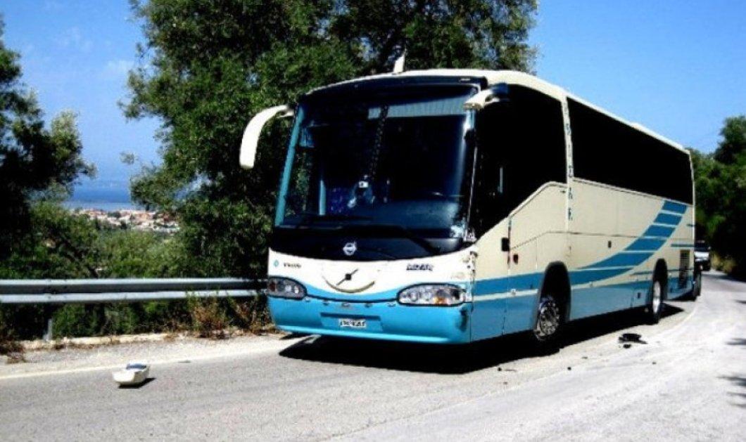 Τροχαίο στην Θεσσαλονίκη: Λεωφορείο των ΚΤΕΛ προσέκρουσε σε διαχωριστική νησίδα  – Δώδεκα τραυματίες (βίντεο) - Κυρίως Φωτογραφία - Gallery - Video