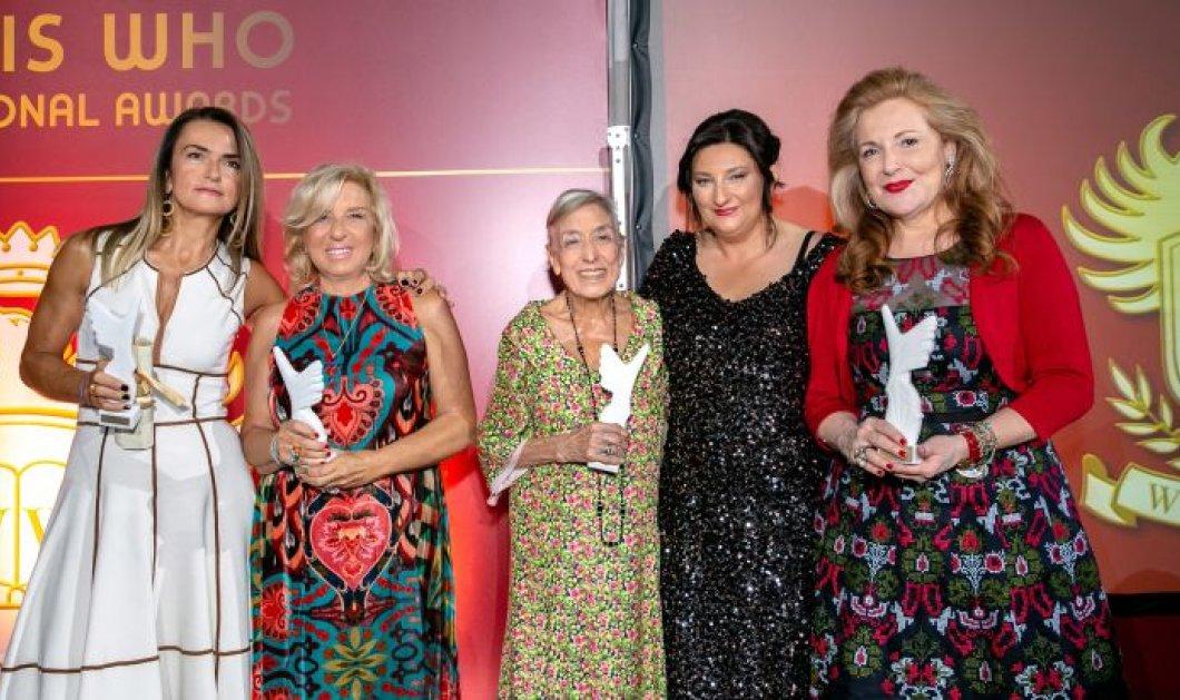 «Who is who International Awards» στο περίστυλο του Ζαππείου Μεγάρου - «Η Γυναίκα το κλειδί της Ανάπτυξης» - Κυρίως Φωτογραφία - Gallery - Video
