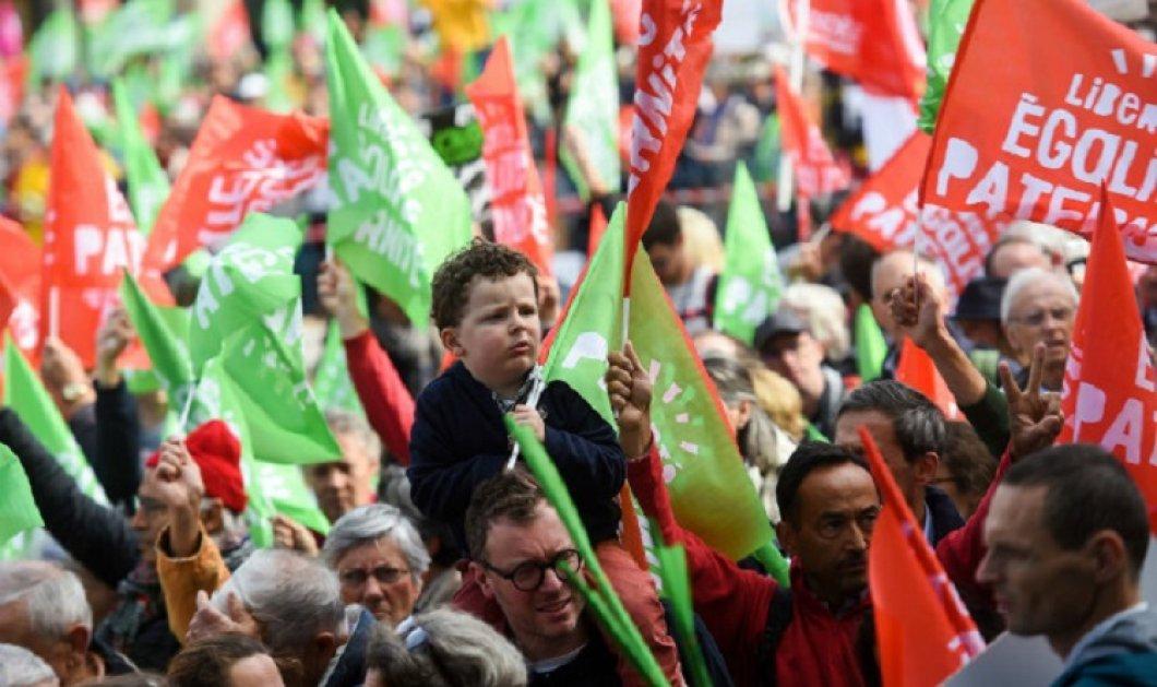 Μαζικές διαδηλώσεις στη Γαλλία για νόμο που επιτρέπει σε λεσβίες ή γυναίκες χωρίς σύντροφο να κάνουν εξωσωματική γονιμοποίηση (φώτο-βίντεο) - Κυρίως Φωτογραφία - Gallery - Video