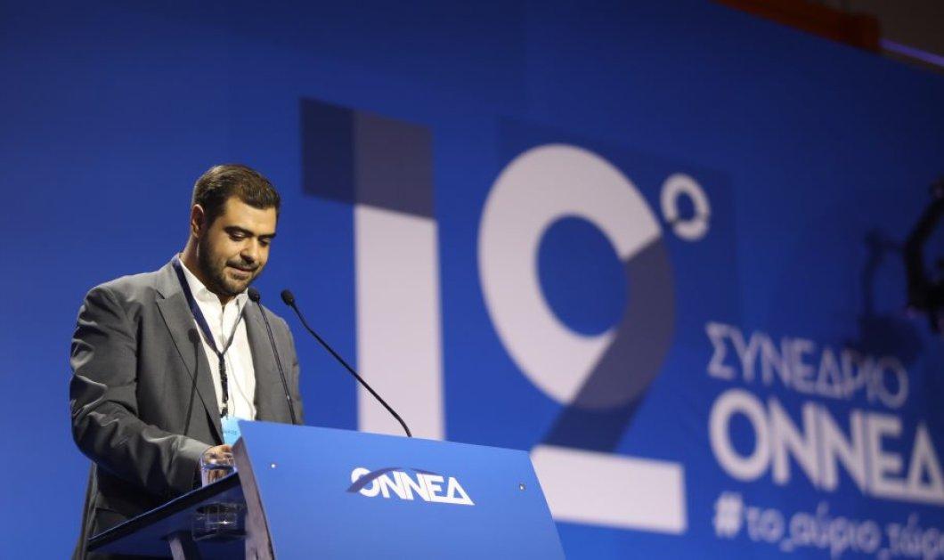 Ο Παύλος Μαρινάκης νέος πρόεδρος της ΟΝΝΕΔ - Κυρίως Φωτογραφία - Gallery - Video