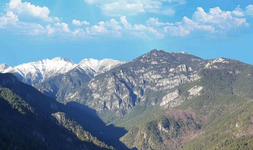 Τα πρώτα χιόνια στην Ελλάδα - Το έστρωσε στην κορυφή του Ολύμπου (Φωτό) - Κυρίως Φωτογραφία - Gallery - Video