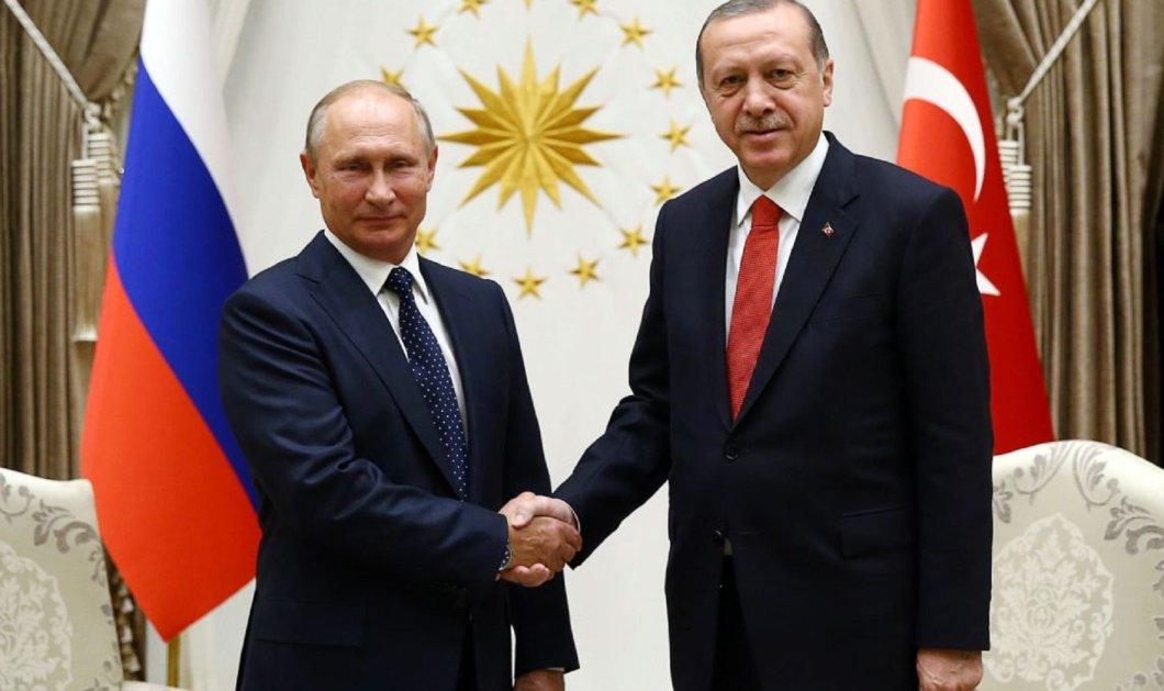 Κρίσιμες επαφές Πούτιν με Ερντογάν – Λήγει η εκεχειρία στη Συρία - Κυρίως Φωτογραφία - Gallery - Video