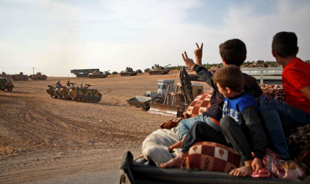 Όχι Ερντογάν σε εκεχειρία στη Συρία - «Δεν ανησυχούμε για τις κυρώσεις» ( φωτό & βίντεο) - Κυρίως Φωτογραφία - Gallery - Video