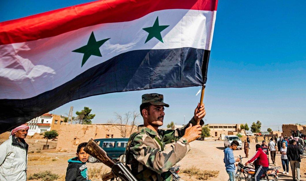 Συμφωνία του Άσαντ με τους Κούρδους - Στη βορειοανατολική Συρία ο στρατός του  - Κυρίως Φωτογραφία - Gallery - Video