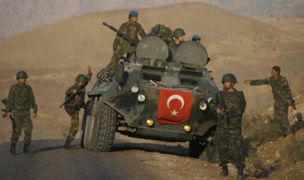 Πυροβολικό της Τουρκίας έπληξε κουρδικές θέσεις ανατολικά της Ταλ Αμπιάντ, στη Συρία - Κυρίως Φωτογραφία - Gallery - Video